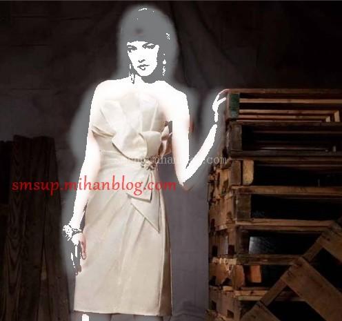 مدل لباس شب سفید