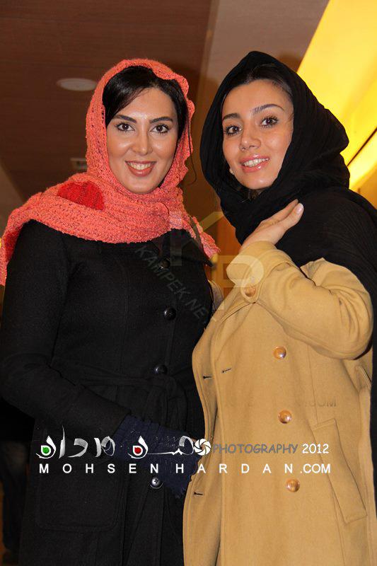 عکس جدید خاطره حاتمی و لیلا بلوکات
