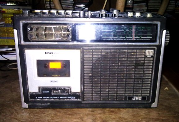 ضبط صوت قدیمی-کاست قدیمی