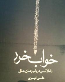 کتاب خواب خرد نوشته علی امیری نویسنده افغان