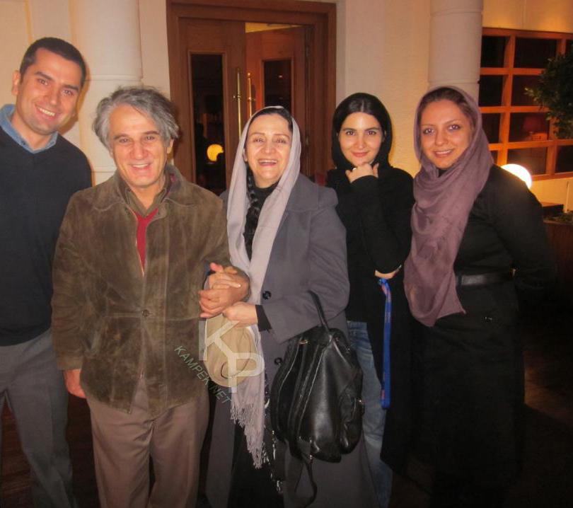 عکس جدید مهدی و هاشمی و همسرش گلاب ادینه