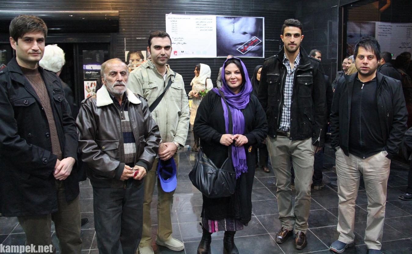 عکس های شهره سلطانی در پشت صحنه تئاتر