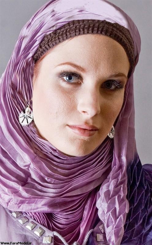 مدل هاي جديد روسري و شال