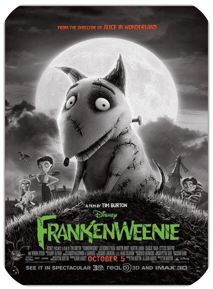 انیمیشن Frankenweenie 2012