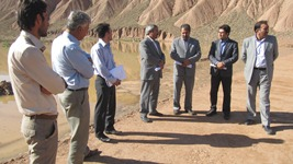 پروژه بند خاکی حوزه آبخیزگزی