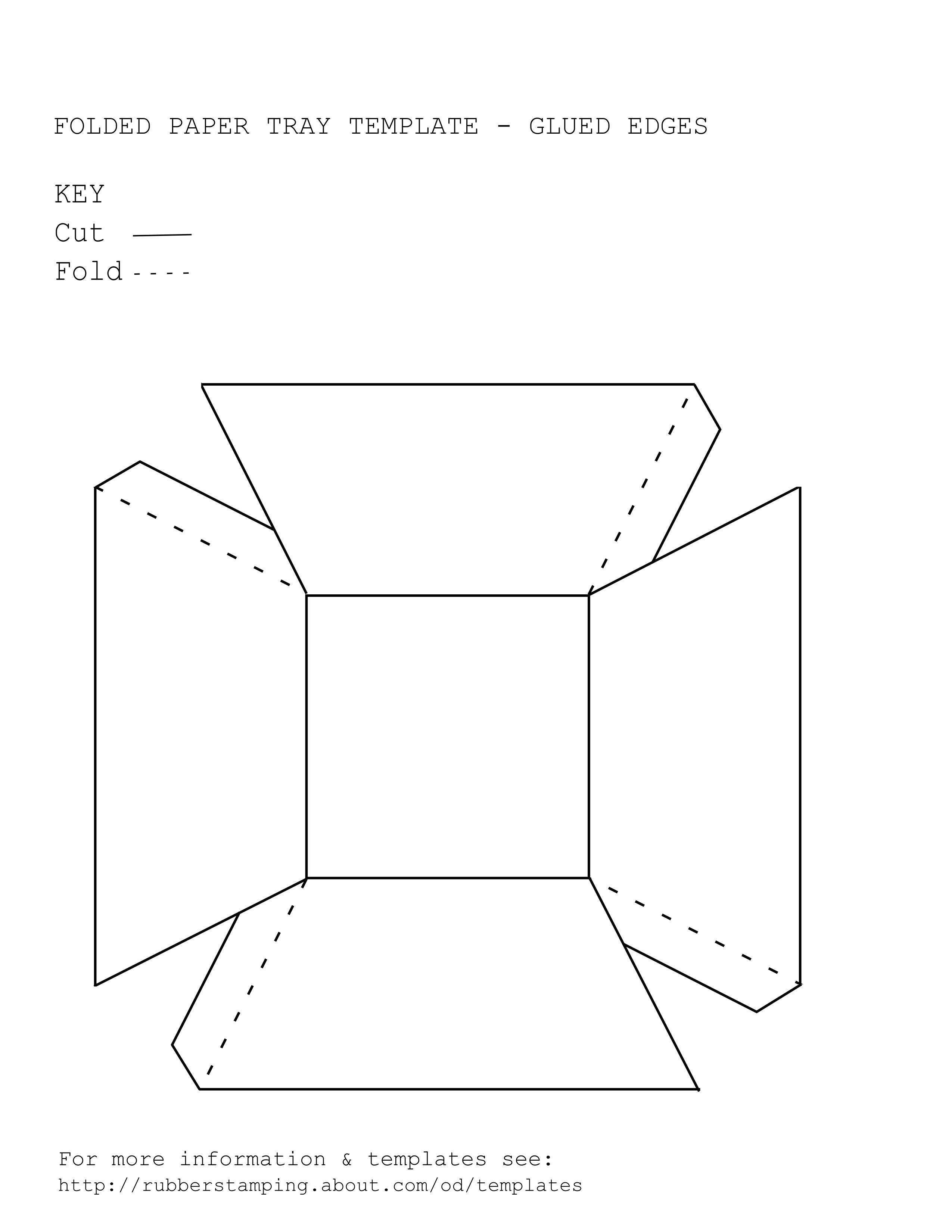 جعبه گیفت به شکل کاسه با جای چسب