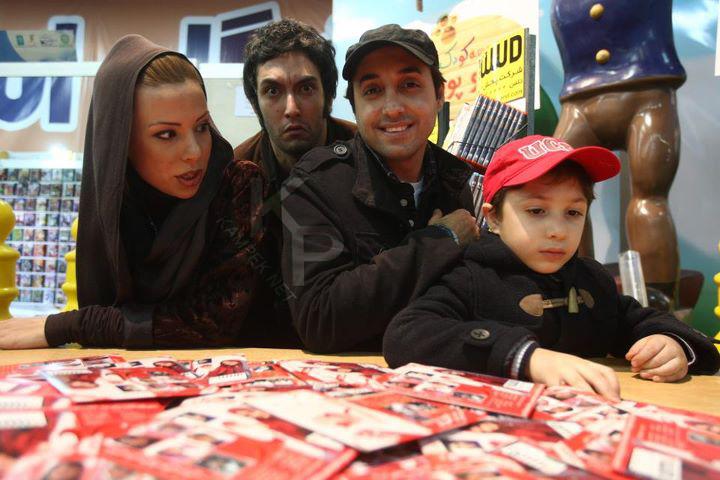 عکس جدید امیر حسین رستمی و همسرش