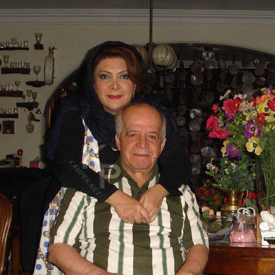عکس جدید کحسن قاضی مرادی و همسرش مهوش وقاری