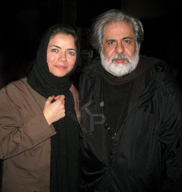 عکس جدید مهتاب نصیر پور و همسرش
