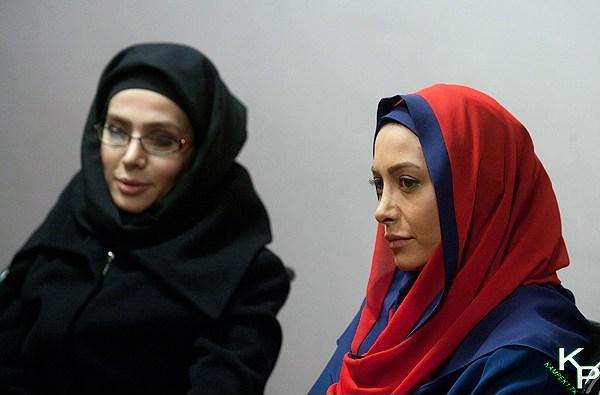 فریبا نادری در نشست خبری سریال میلیاردر