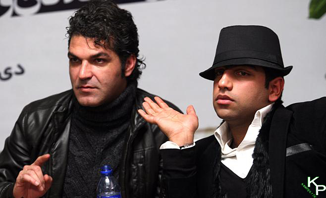 سامان گوران در نشست خبری سریال میلیاردر