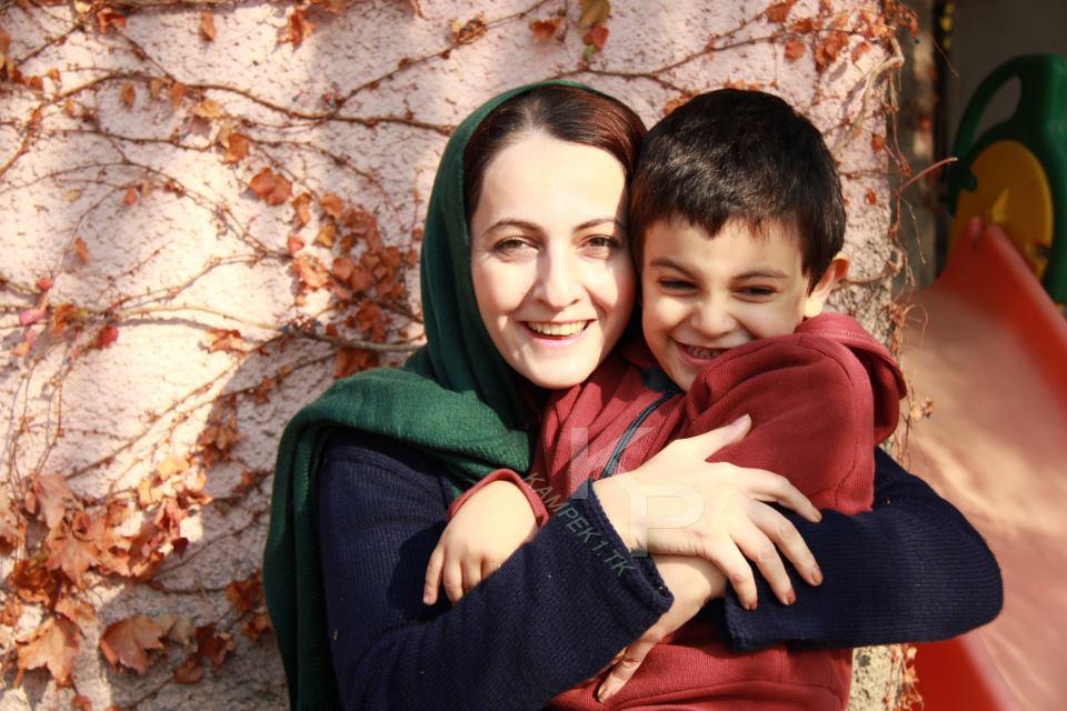 جدید ترین عکس شقایق دهقان و پسرش