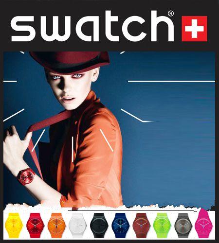 خرید ساعت زنانه ارزان ژله ای سواچ