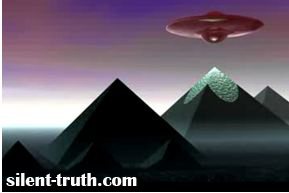 موجودات فضایی در مصر باستان