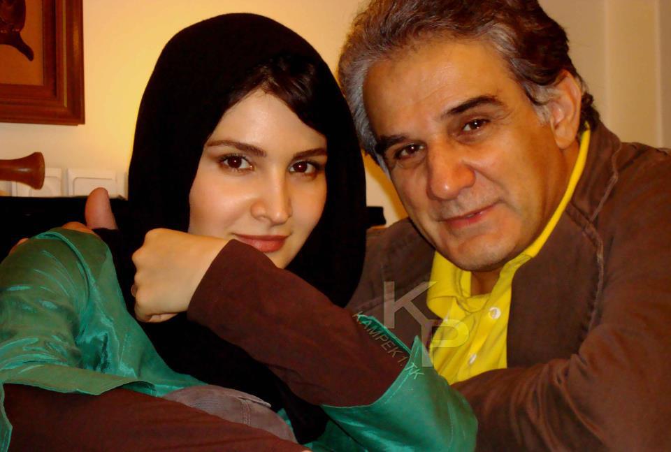 عکس جدید نورا هاشمی و پدرش مهدی هاشمی