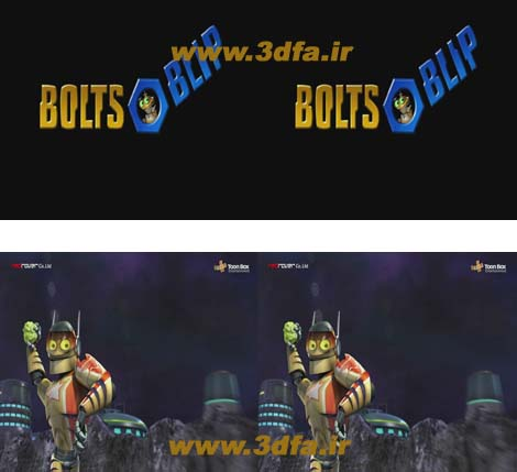 bolt and blip 3d sbs | www.3dfa.ir