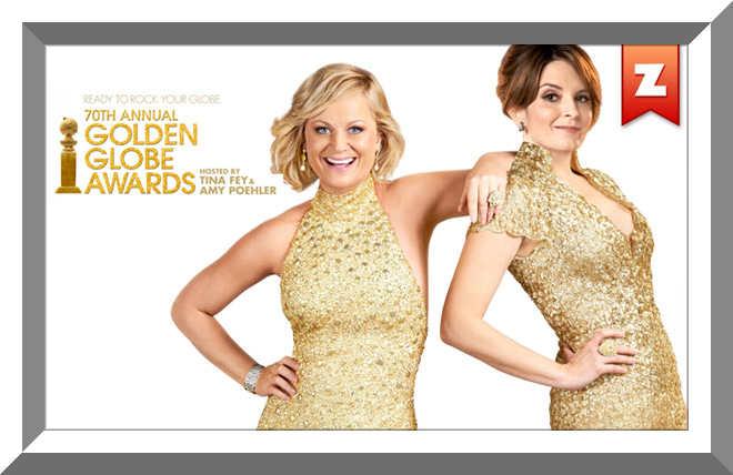 مراسم The 70th Annual Golden Globe Awards 2013
