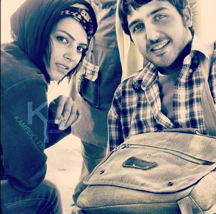 عکس جدید چکامه چمن ماه و محمد رضا غفاری