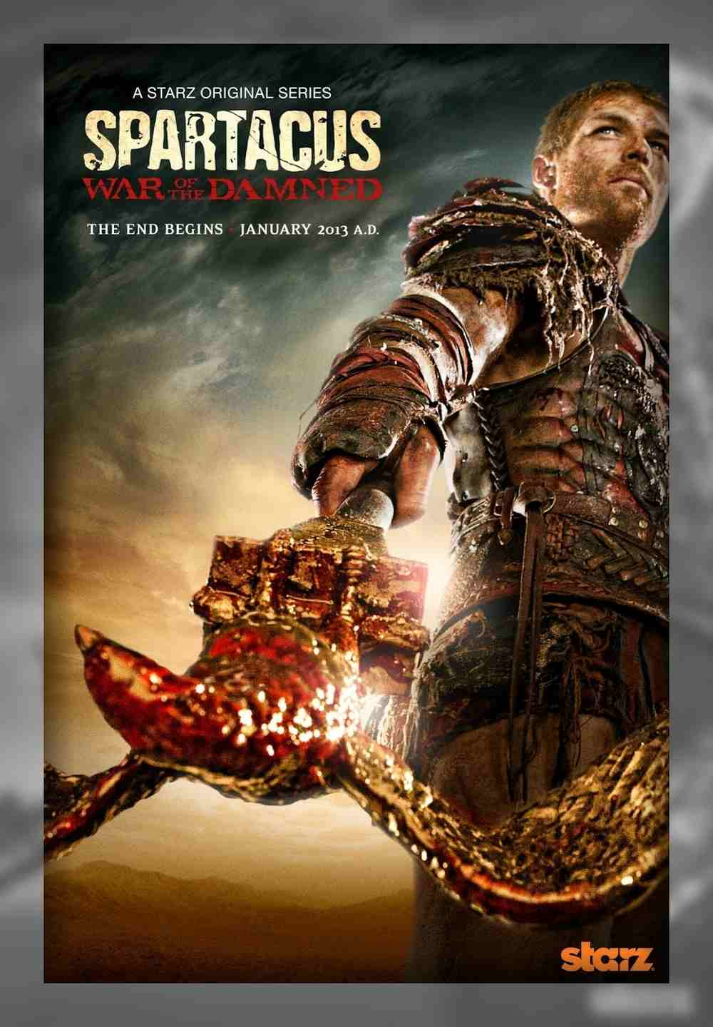 سریال Spartacus: War Of The Damned فصل سوم