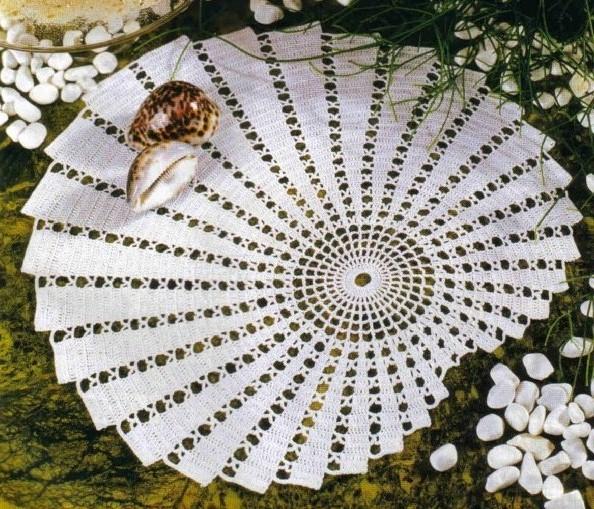 رومیزی صدفی