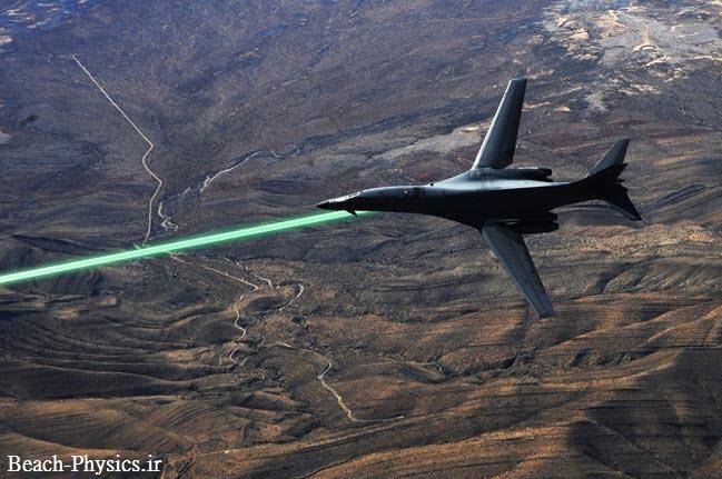 آزمایش سیستم لیزری جدید جت های جنگنده تا 2014