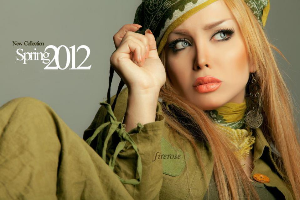 شگفتی همگان از زیبایی و جذابیت مدل ایرانی  عکس    ایران ناز