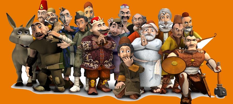 مجموعه انیمیشن حکایات سعدی