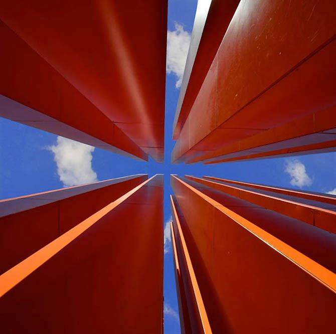 هنر عکاسی: آسمان در قاب معماری