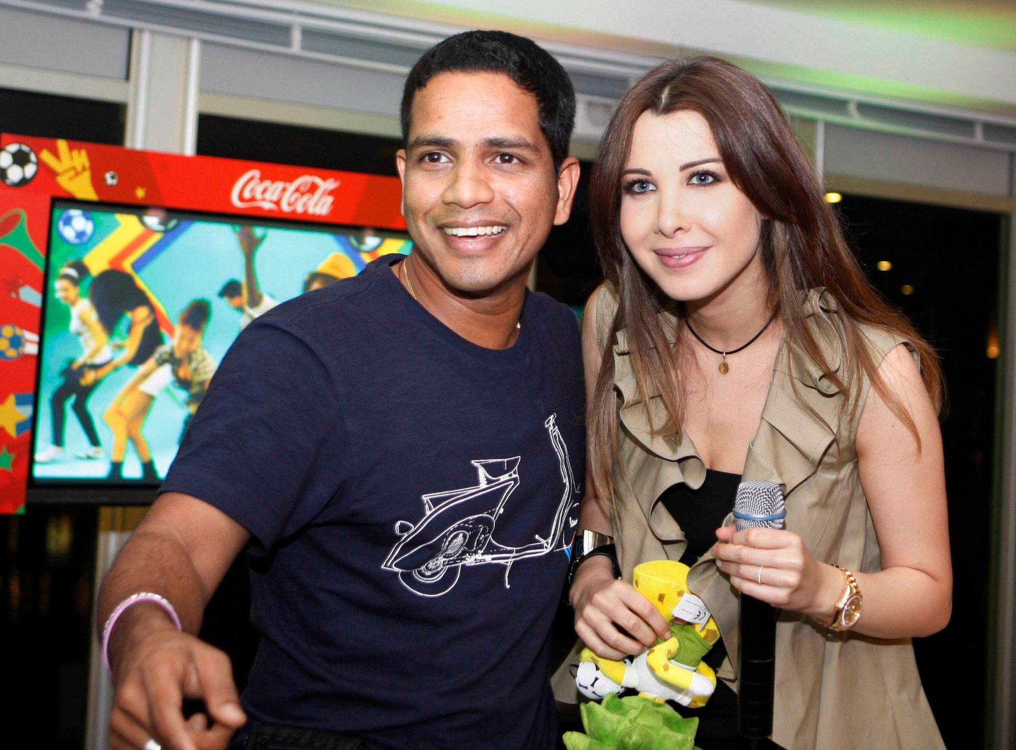 Nancy Ajram Fifa Tent Concert - Dubai 2010