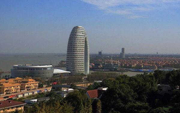 مطالب داغ: هتل حلقوی شرایتون در چین