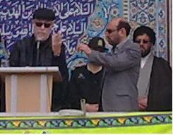 مسیو ژرارد در مراسم 22 بهمن شهر گرمی