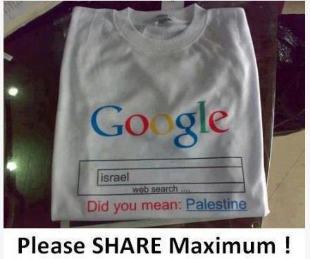 Did u mean Palestine?!