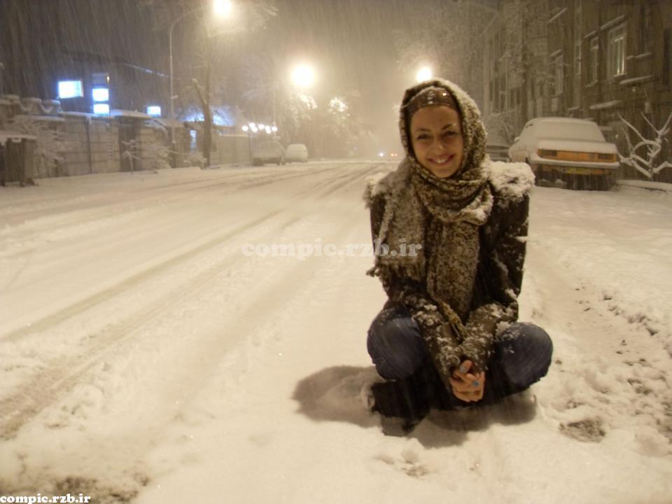 جدیدترین عکس های نفیسه روشن نیمه دوم بهمن 1391