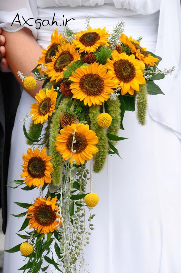 wedding bouquet جدید ترین دسته گل های عروس 2013