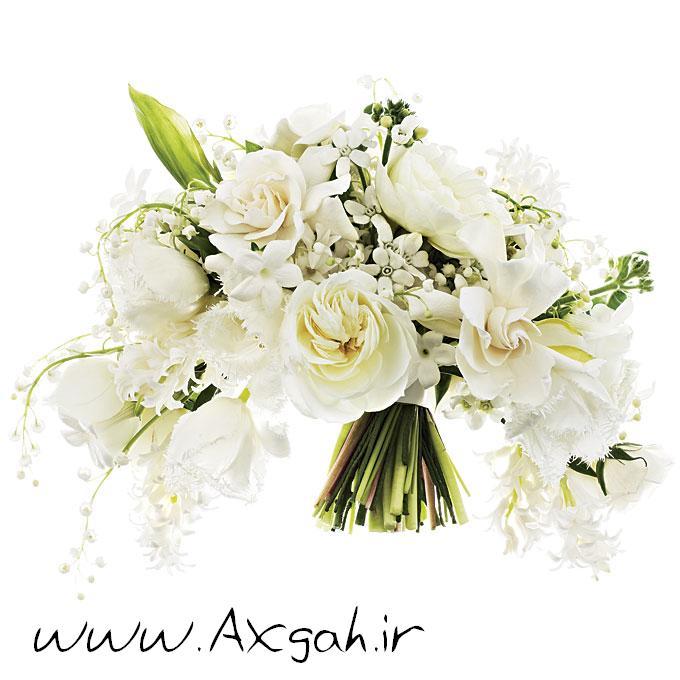wedding bouquets by style 003 جدید ترین دسته گل های عروس 2013