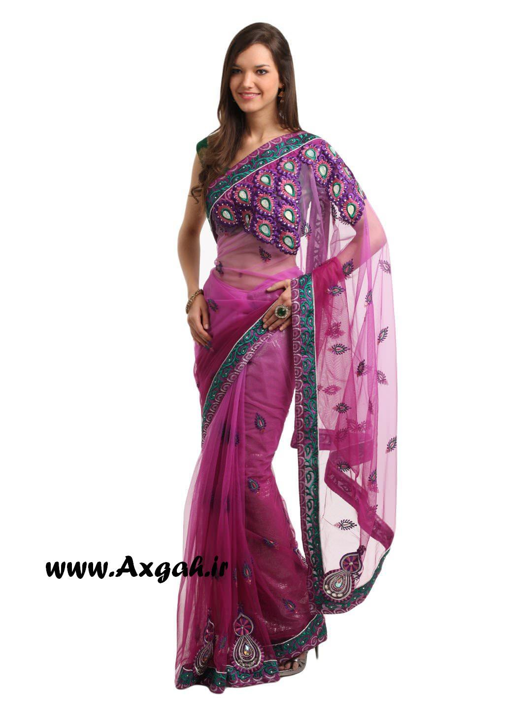 Indian Women Pink Sari e35698932ee8a28dfc4db7827f245673 images 1080 1440 mini مدل های لباس هندی 2013