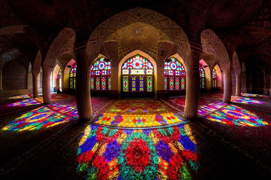 بنای زیبای ایرانی