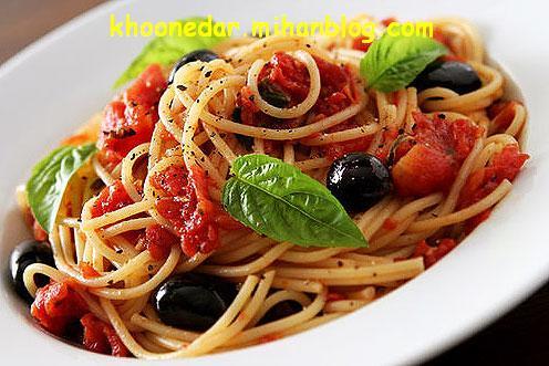 اسپاگتی مدیترانه ای