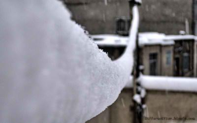 والپیپیر + زمستان + برف + پل برفی + طناب یخ زده + کیفیت عالی + hd