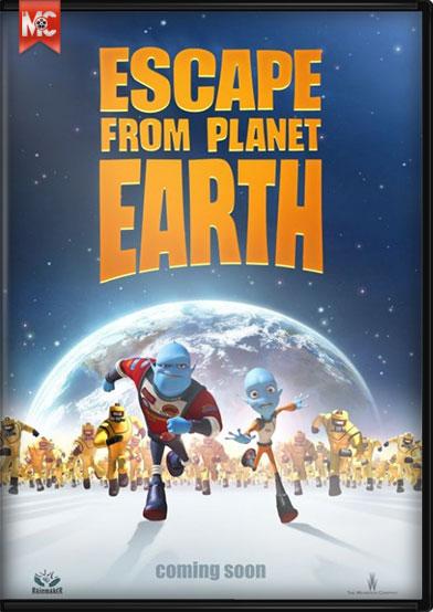 escape frpm earth دانلود انیمیشن Escape from Planet Earth 2013