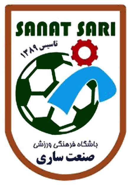 کانون هواداران ورزش اراک - لوگوی باشگاه صنعت ساری