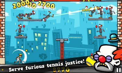 تصویری از بازی Tennis in the Face بادا
