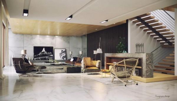 فضاهای منحصر بفرد و جذاب داخلی
