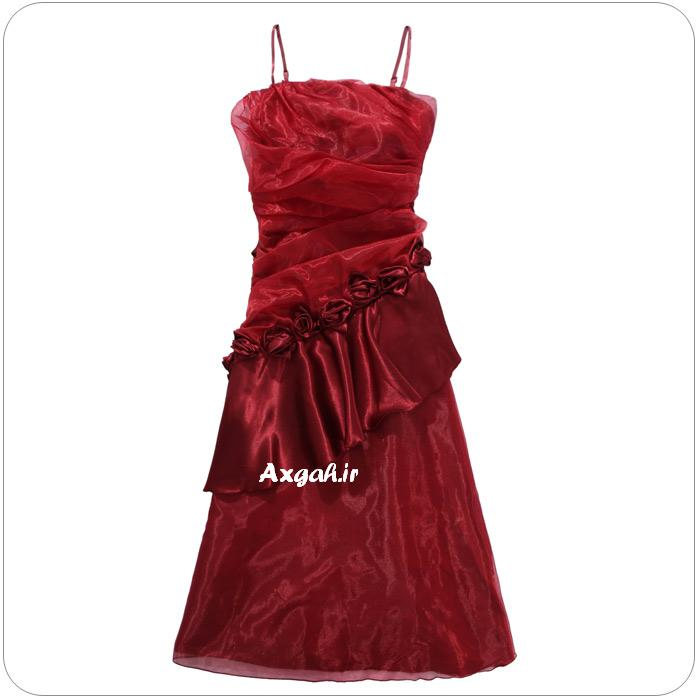wholesale dress 3211red7 مدل های لباس شب دخترانه