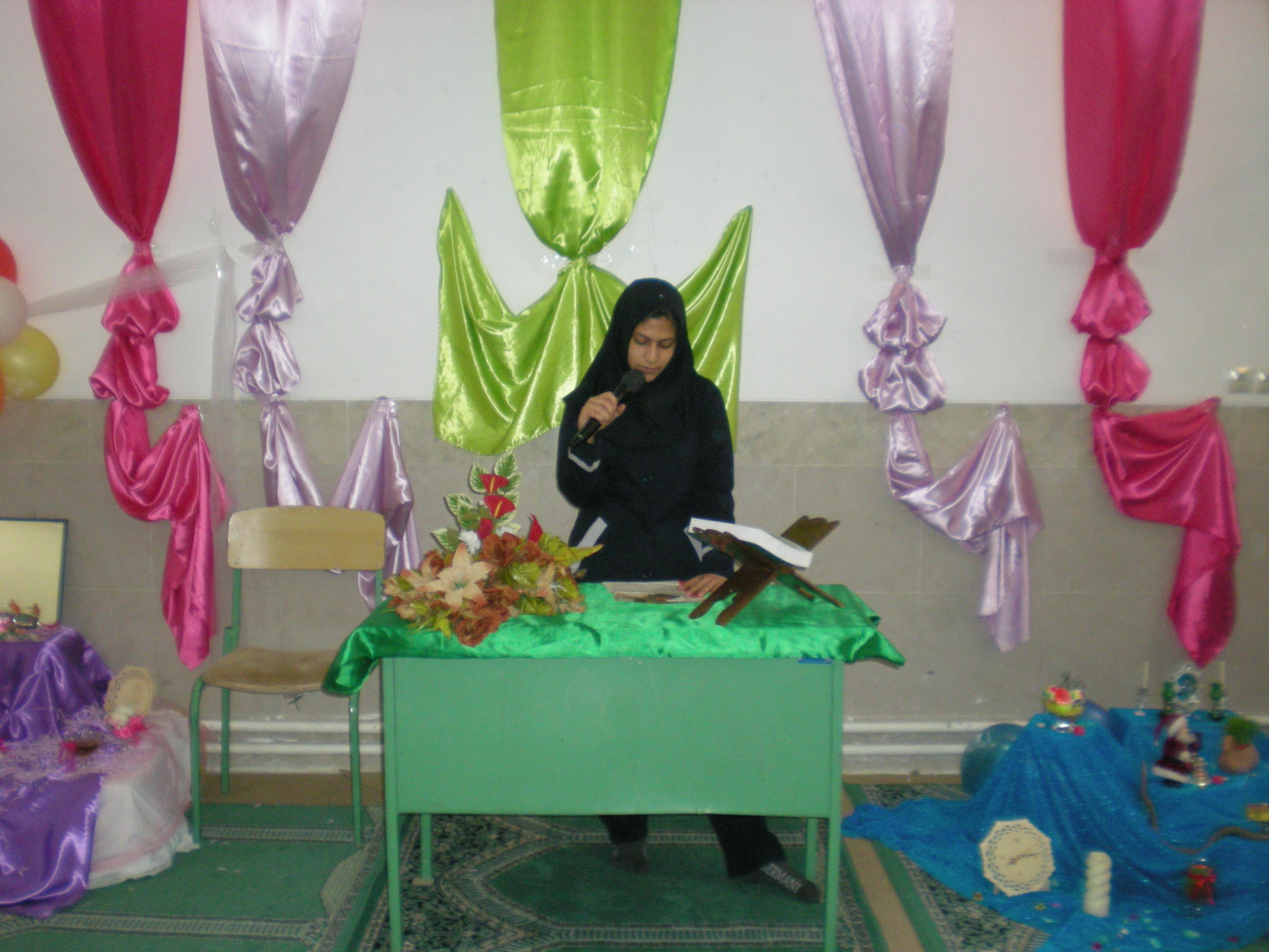 اذن ی برای ر خدمت مدرسه راهنمایی دخترانه امام هادی (ع) کاشان