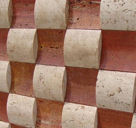 سنگ آنتیک منظم منحنی