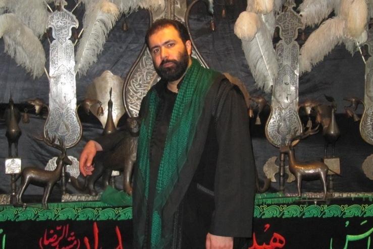 حاج مهدی اکبری شب تاسوعا93مشهد الرضا(ع)
