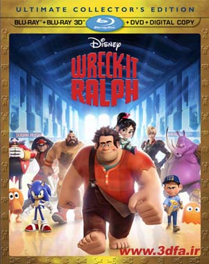 wreck it ralph 3d cover