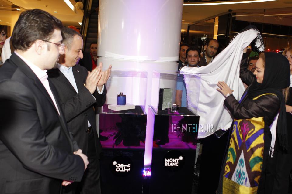 عکس های نیکی کریمی در مراسم افتتاحیه مون بلان