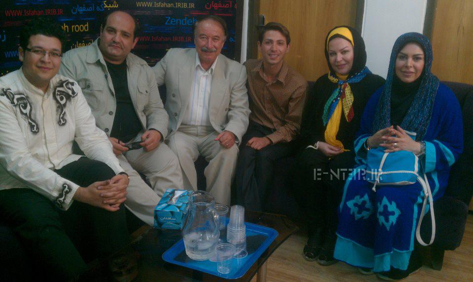 عکس جدید فلور نظری و اکرم محمدی در اصفهان